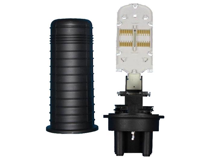 144 Core, 6 Trays, Heat Shrink Sealing Dome Fiber Optic Splice Closure TSB-201B
