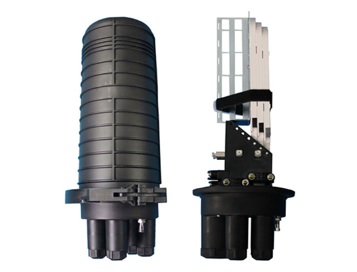 144 Core, 6 Trays, Mechanical Sealing FTTH Fiber Optic Closure TSB-207-32SC