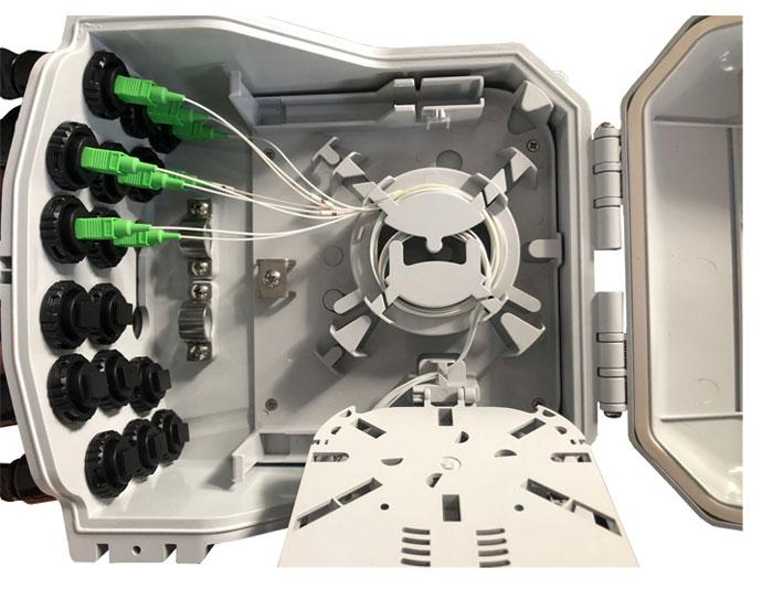 16 Core Fiber Access Terminal Box F2E-601-16G