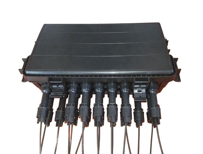 16 Core Outdoor IP65 FTTH Optical Fiber Terminal Box F2E-601-16H