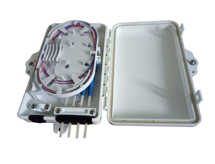 4 Core Fibre Optic Distribution Box Fiber Terminal Box FDB-04C