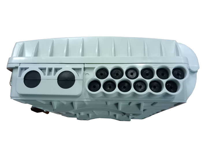 8 Core Fiber Splitter Distribution Box With LGX Splitter FDB-08J