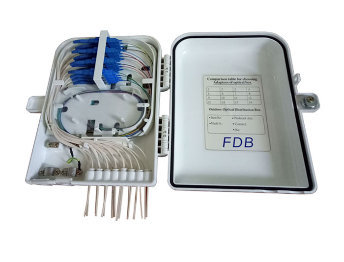 16 Core Fibre Optic Distribution Box FDB-016A