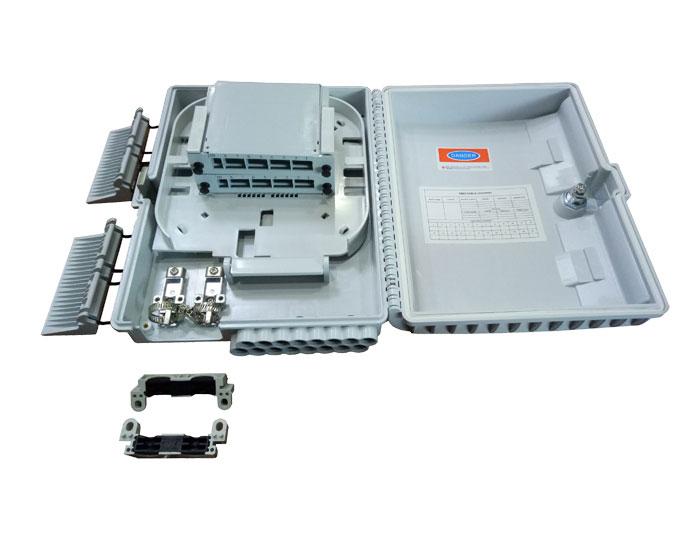 16 Core Outdoor Fiber Splitter Box with LGX Splitter FDB-016G