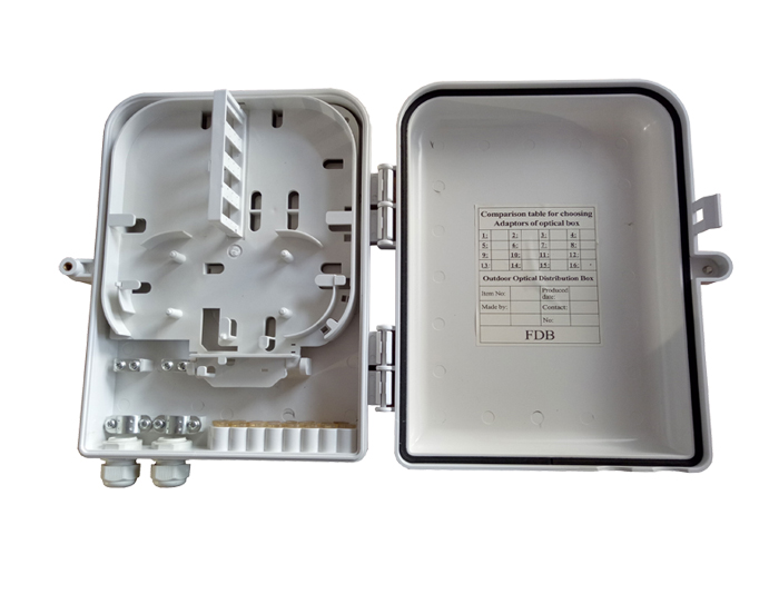 16 Core Fibre Optic Distribution Box - Fiber Optic Box Outdoor FDB-016A