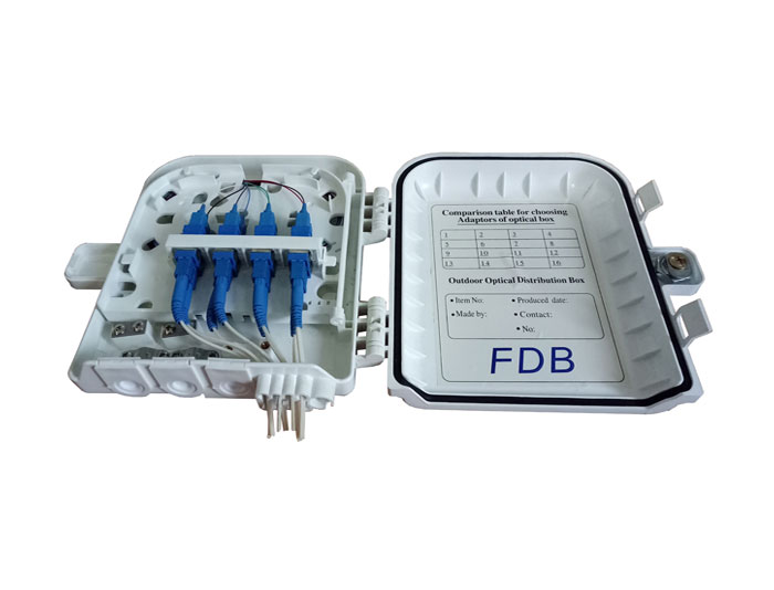 8 Core Fiber Optic Terminal Box | Fiber Optic Box FDB-08B