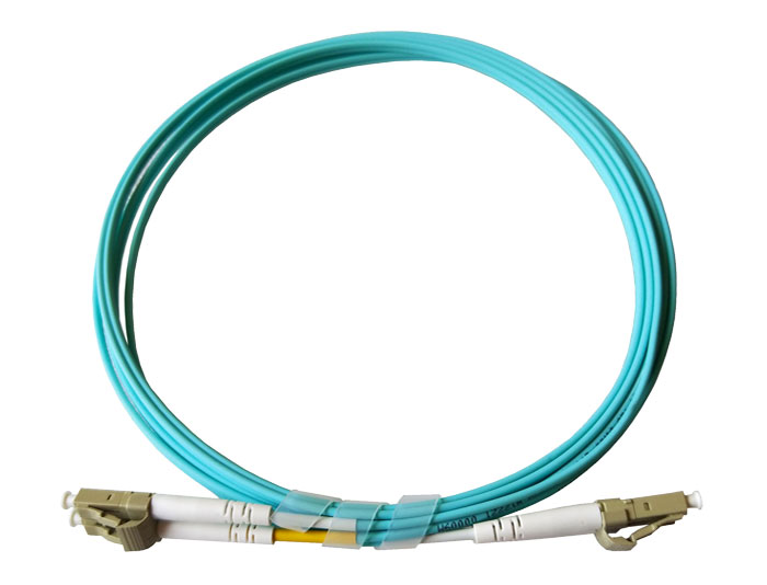 OM3 LC to LC Fiber Patch Cords LC-LC Duplex 2.0mm, Low Smoke Zero Halogen (LSZH) rated, TSB-304G
