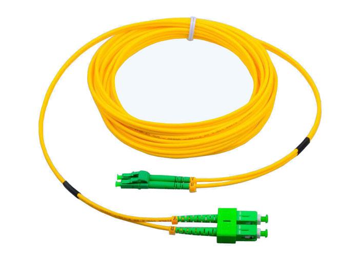 LC to LC Fiber Patch Cords Duplex 2.0mm, Low Smoke Zero Halogen (LSZH) rated, TSB-304C
