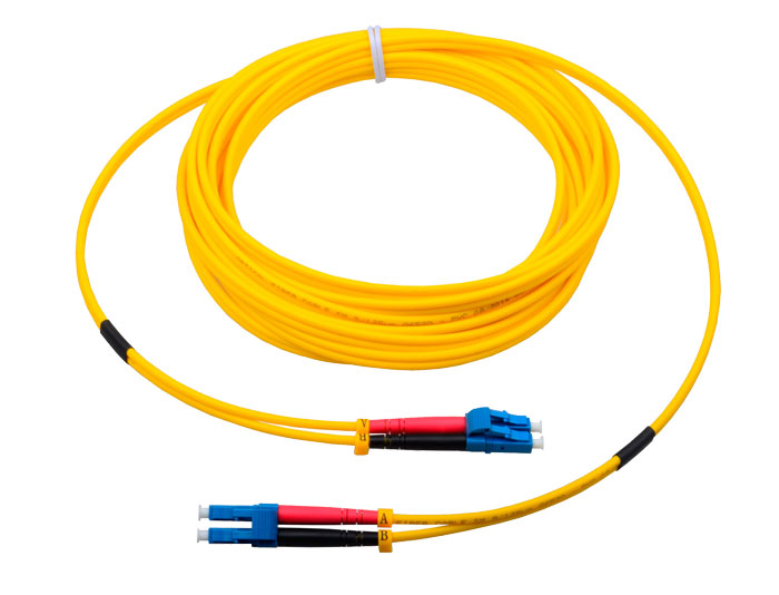 LC to LC Fiber Patch Cords Duplex 2.0mm, Low Smoke Zero Halogen (LSZH) rated, TSB-304C