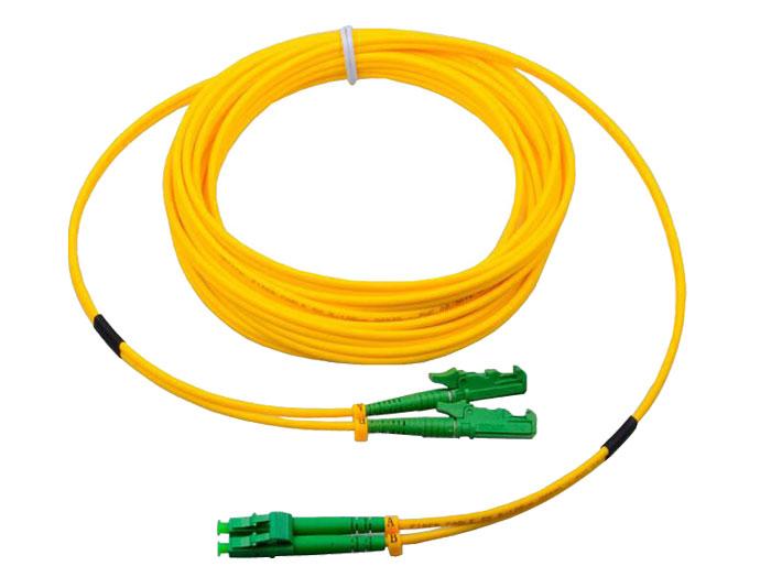 Fiber Patch Cords E2000 Simplex 3.0mm, Low Smoke Zero Halogen (LSZH) rated, TSB-306C