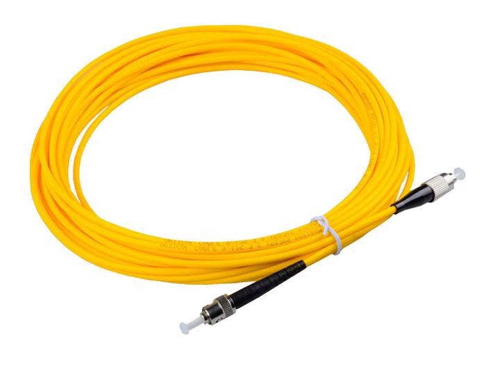 SC to ST Fiber Patch Cord OS2 Single Mode Fiber Simplex 3.0mm LSZH TSB-303A
