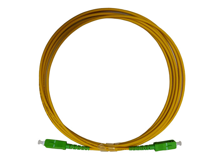 Fiber Patch Cord SC to SC Simplex G657A2 3.0mm, Low Smoke Zero Halogen (LSZH) rated, TSB-302B