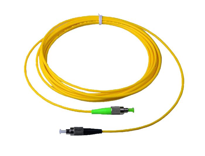 Fiber Patch Cord FC to SC, OS2 Single Mode Fiber, Simplex G652D 3.0mm LSZH TSB-301B