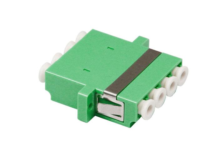 LC QUAD Symmetry-type Fiber Optic Adapter With Flange OFA-104J
