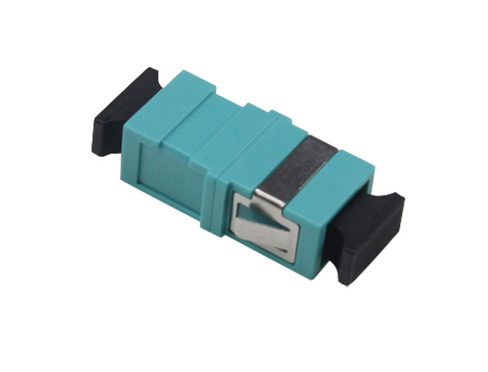 SC to SC OM3 Fiber Optic Adapter With Flange OFA-102A5