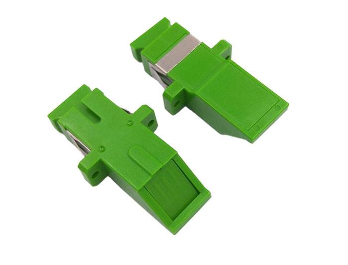 SC Adapter Simplex Inward Shutter Avoid Laser Adapter With Flange OFA-102B7