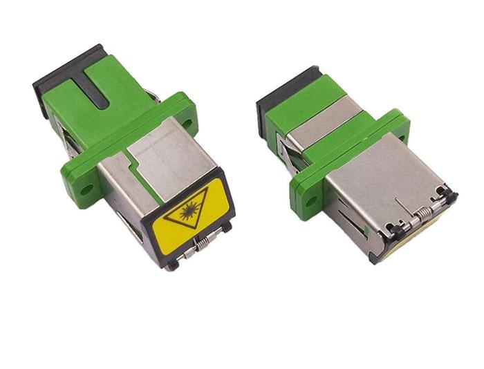 SC Shutter Avoid Laser Fiber Adapter Without Flange OFA-102B9