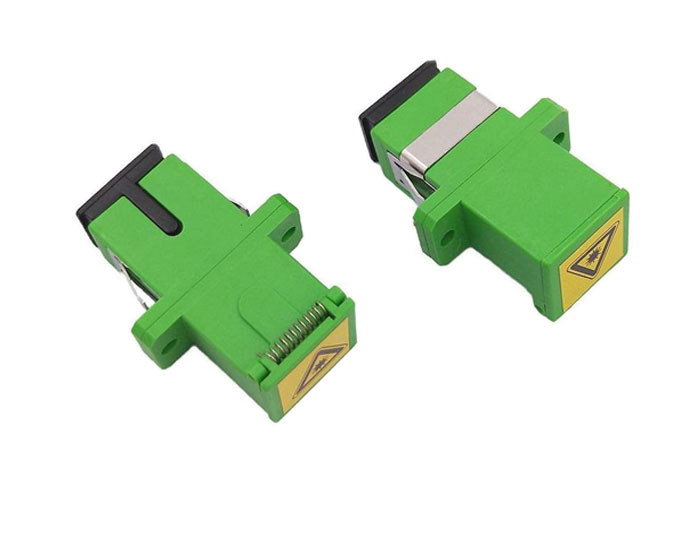 SC Shutter Avoid Laser Fiber Optic Adapter Without Flange OFA-102B9