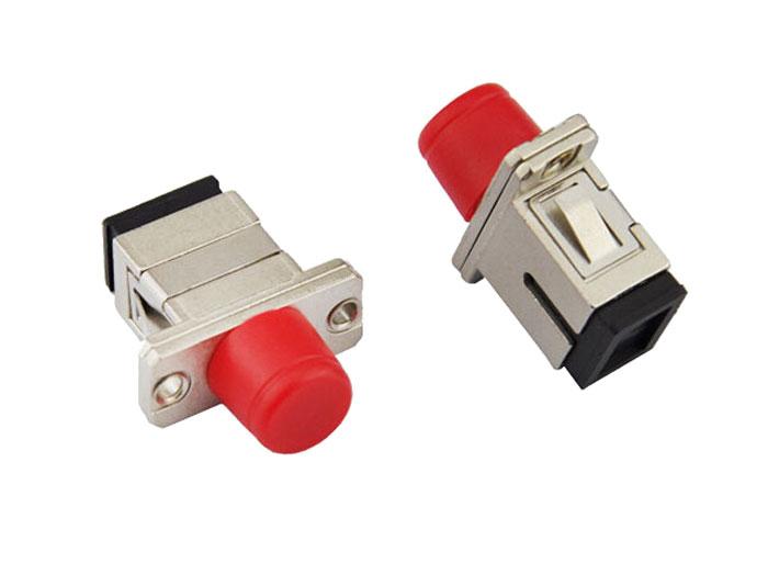 SC-FC Simplex Fiber Optic Hybrid Adapter OFA-102G
