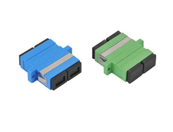 SC APC Duplex Fiber Optic Adapter OFA-102C