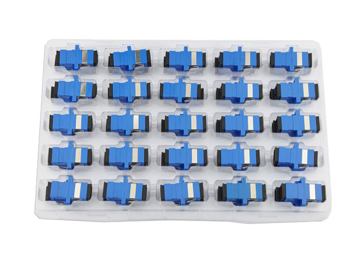 SC UPC Simplex Fiber Optic Adapters OFA-102A