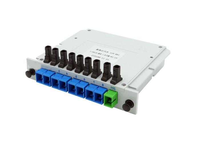 1x8 SC Fiber Optic Splitter-PLC Splitter TSB-408A