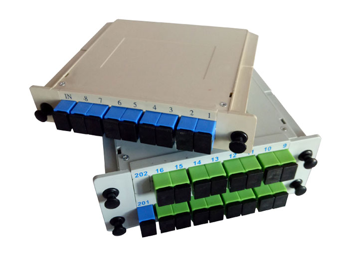 1x16 SC Fiber Splitter Box-PON Splitter TSB-408B