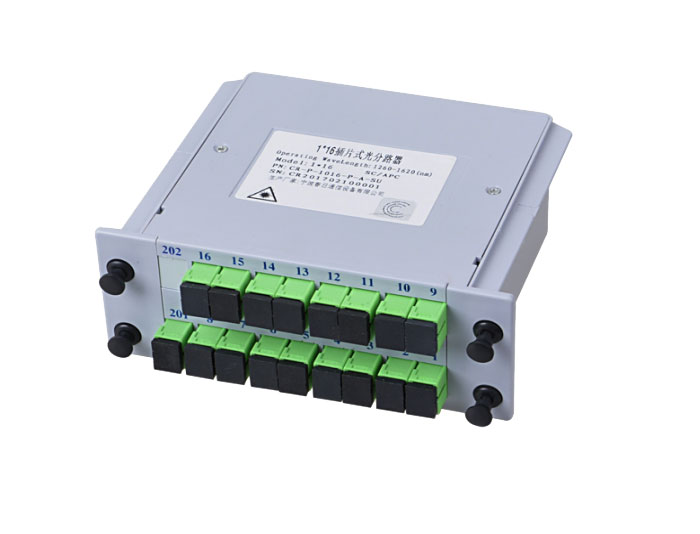 1x16 SC Fiber Optic Insert Splitter TSB-408B