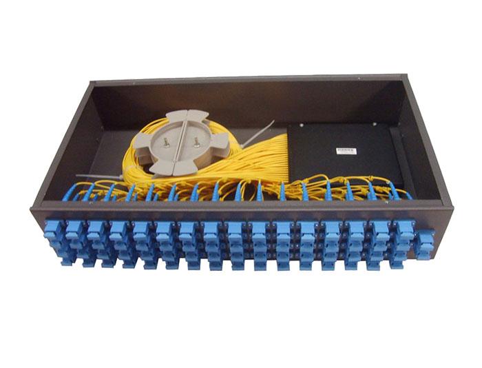1U Rack Mount Fiber Optic PLC Splitter-GPON Splitter TSB-410B