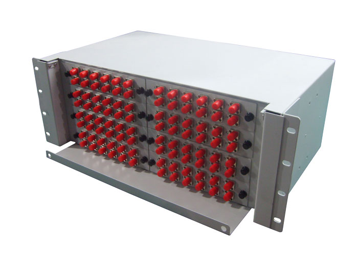 19 Inch 96 Core Slide Out Rack Mount Fiber Patch Panel GZFB-2022B-R96
