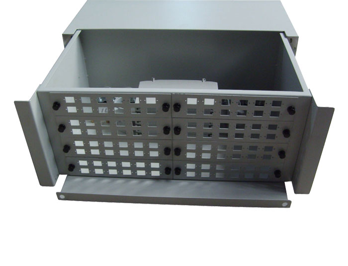 19 Inch 96 Core Slide Out Fiber Optic Patch Panel GZFB-2022B-R96