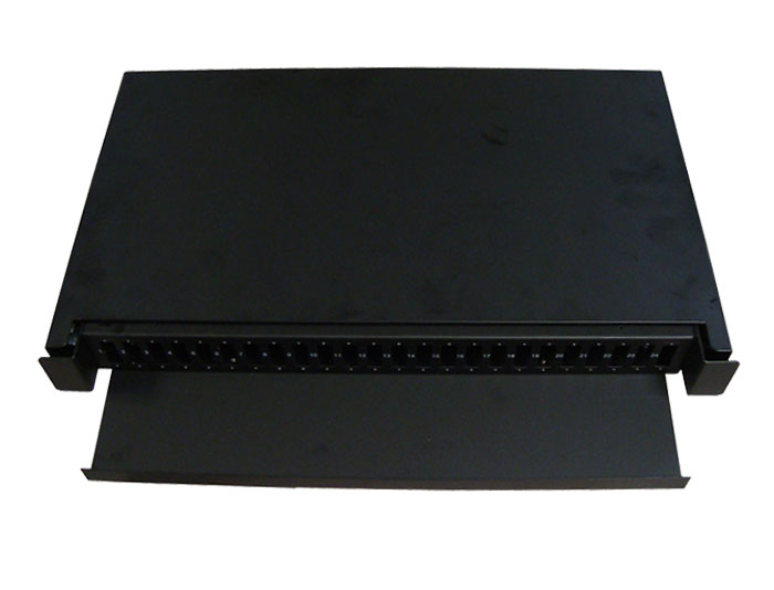 19 Inch Slide Out 24 Port Fiber Optic Patch Panel GZFB-2044D