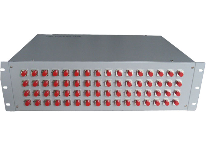 19 Inch Fixed 48 Port Fiber Optic Patch Panel GZFB-2055A