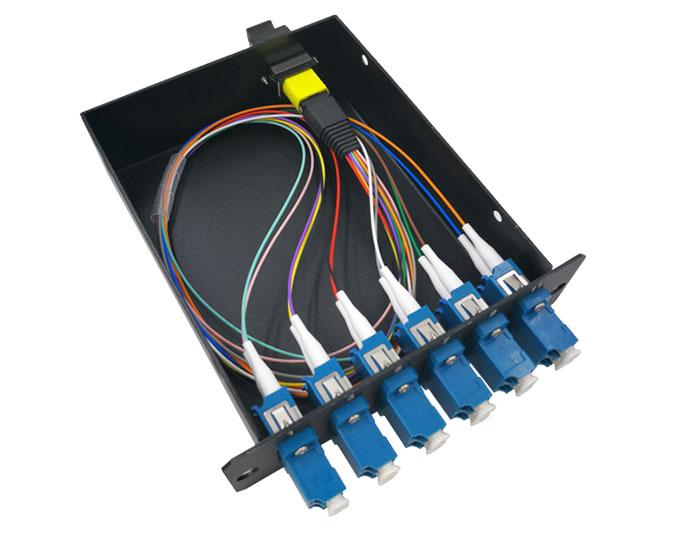 MPO/MTP Pre-terminated Plug-N-Play MPO Fiber Cassettes TSB-307TK
