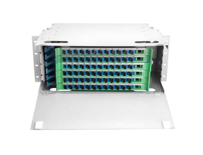 72 Port Rack Mount Fiber ODF Optical Distribution Frame ODF-RF72A