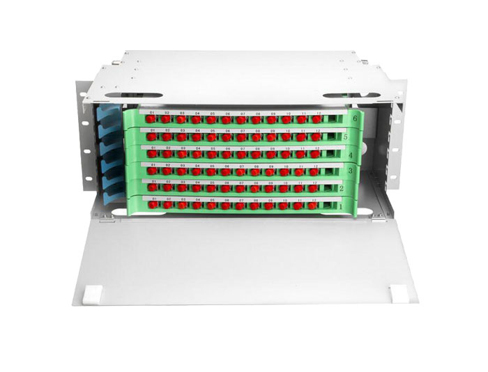 72 Port Rack Mount Fiber ODF Optical Distribution Frame ODF-RF72A