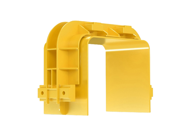 Fiber Raceway Junctions PVC Yellow FSQ-104