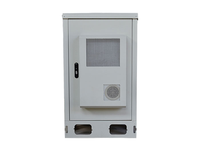 22U IP55 Outdoor Enclosures With Air Heat Exchanger MTC22U-DH