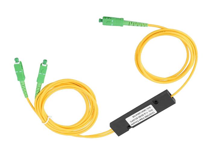 SC APC 1x2 Fiber Spliter-PON Network TSB-406A2