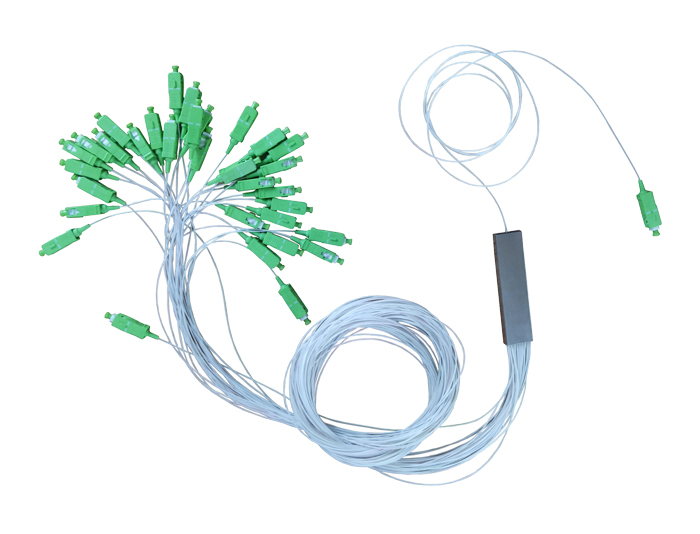 SC APC 1x32 Fiber Splitter-PLC Splitter-TSB-406E1