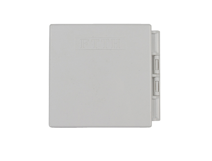 2 Core FTTH Wall Mount Fiber Optic Outlet GZF-B2