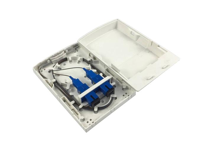 2 Core SC UPC FTTH Fiber Terminal Box GZF-B5