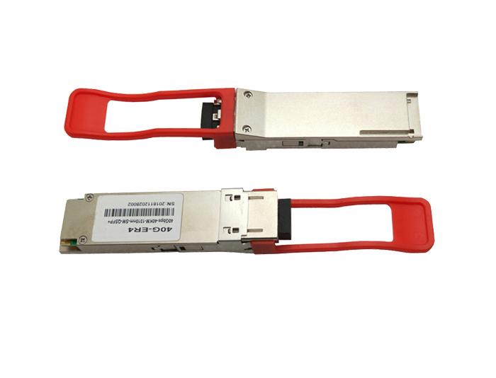 Cisco QSFP-40GE-ER4 Compatible 40GBASE-ER4 QSFP+ 1310nm 40km DOM LC SMF Optical Transceiver Module