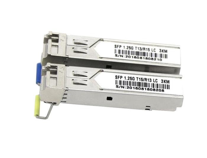 1000BASE-BX-U BiDi SFP Tx:1310nm/Rx:1490nm 10km DOM LC SMF Transceiver Module