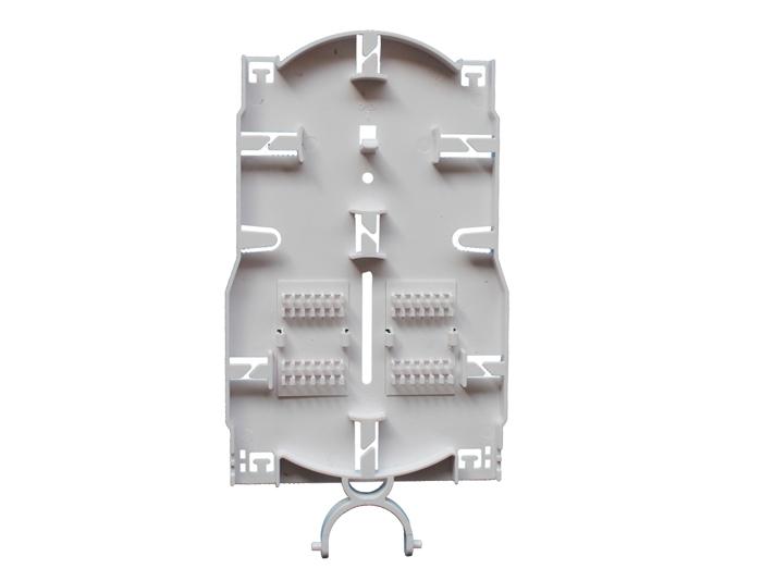 24 Fibers Fiber Splice Trays, Plastic, For Fiber Optic Splice Closure OST-204A