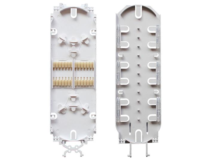 24 Fibers Fiber Optic Splice Tray, Plastic, For Optical Fiber Closure OST-208A