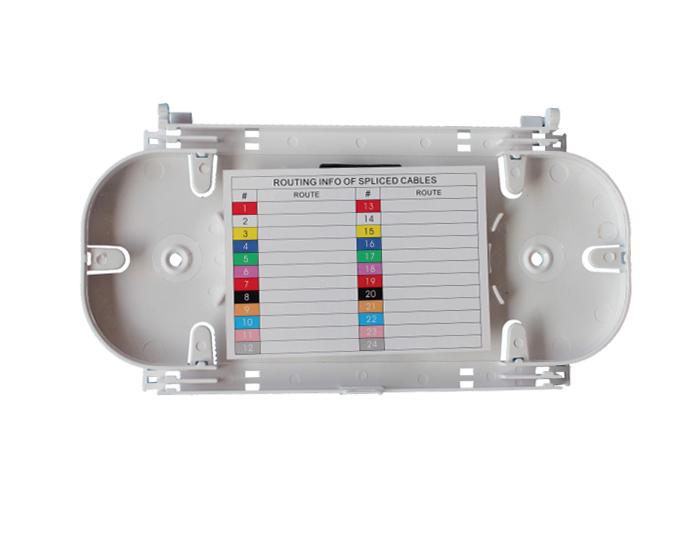 24 Fibers Fiber Optic Splice Tray, Plastic, For Horizontal Fiber Enclosure OST-302A