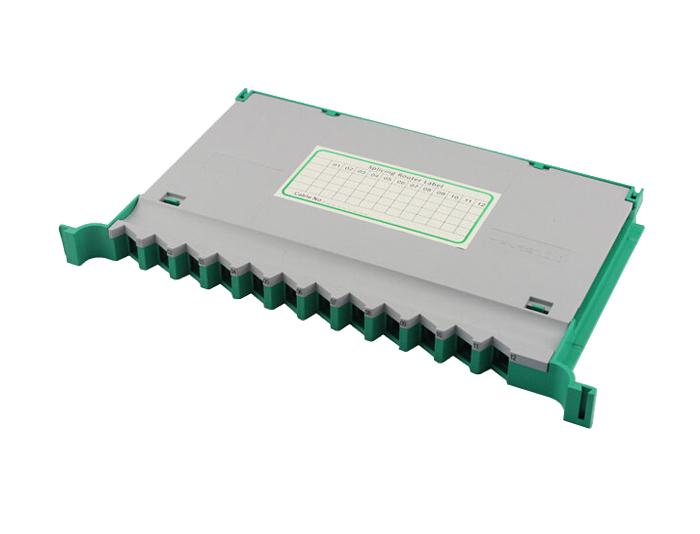 12 Fibers Fiber Optic Cable Tray, Plastic, For Fiber Enclosure OST-405B