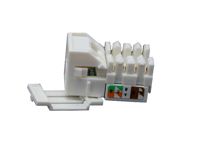 Cat5e RJ45 (8P8C) Unshielded Keystone Jack TSF-302B1