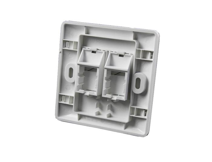 86x86 Type, Single Port, Faceplate TSF-301C